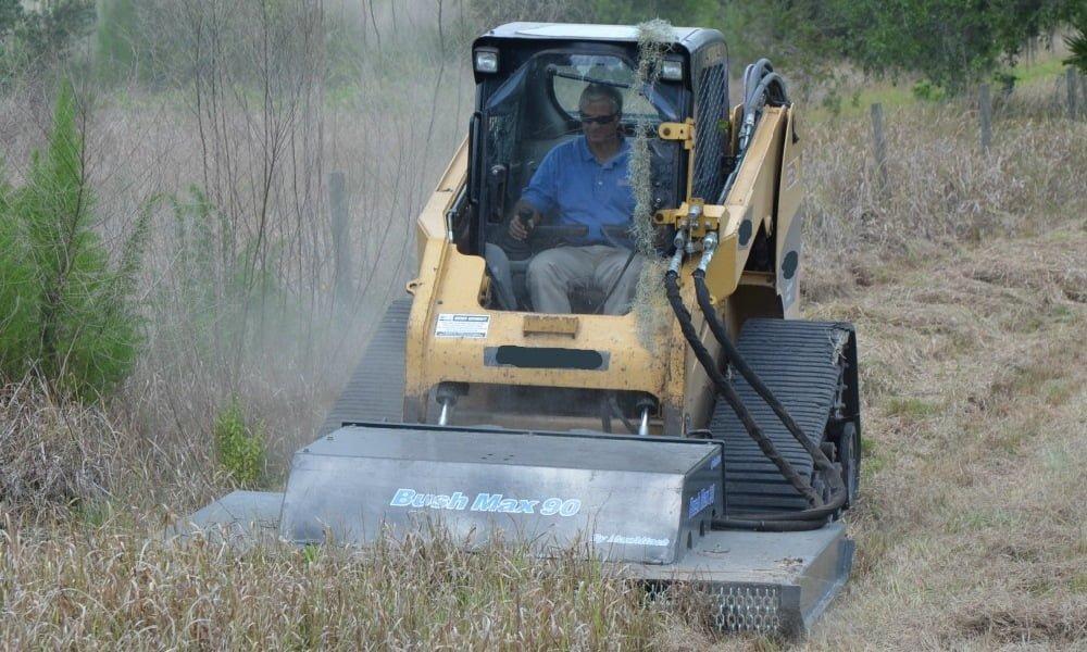 Skid Steer Mower Attachment Atmax Equipment Company