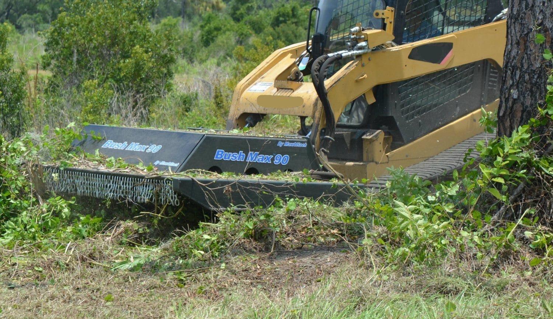 BushMax Skid-Steer Mower Attachment